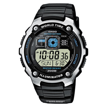 How to set time on Casio AE-2000
