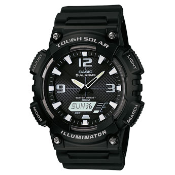 How to set time on Casio AQ-S810