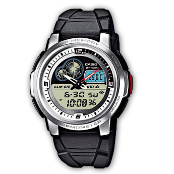 How to set time on Casio AQF-102