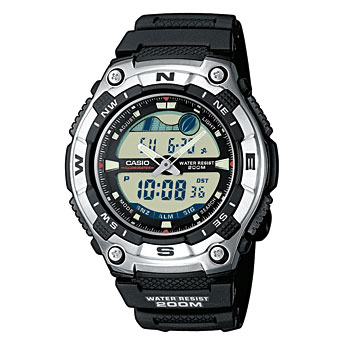 How to set time on Casio AQW-100