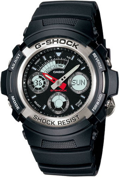 How to set alarm on G-Shock AW-590
