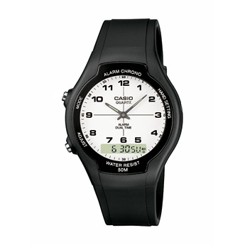 How to set time on Casio AW-90