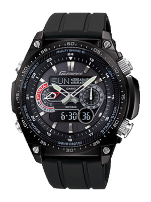 How to set time on Edifice ECW-M300