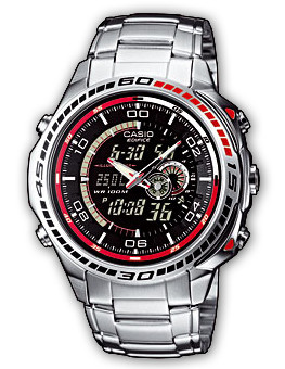 How to set time on Edifice EFA-121