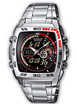 How to set time on Edifice EFA-122