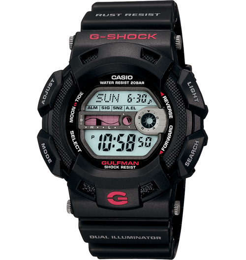 How to set alarm on G-Shock G-9100