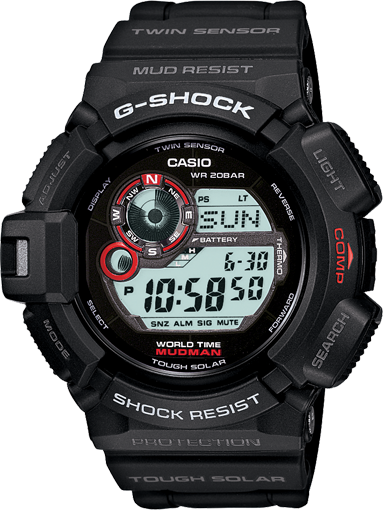 G-Shock G-9300 User Manual / Casio Module 3261