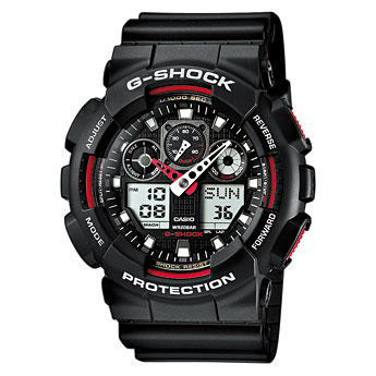 G-Shock GA-100 User Manual / Casio Module 5081