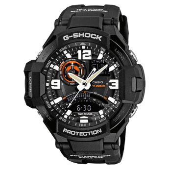 How to set time on G-Shock GA-1000