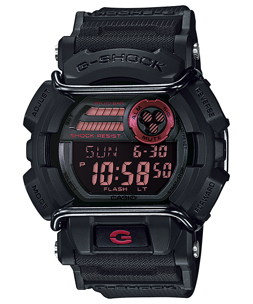 How to set time on G-Shock GD-400