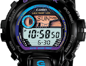 How to set time on G-Shock GLX-6900