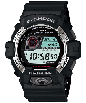 How to set alarm on G-Shock GR-8900