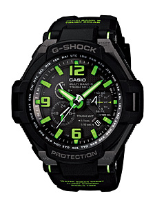 How to set alarm on G-Shock GW-4000