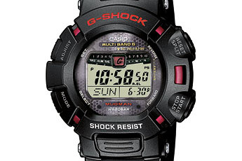 How to set time on G-Shock GW-9010