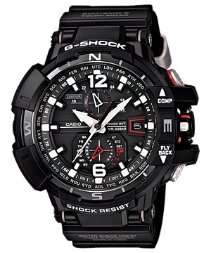 How to set alarm on G-Shock GW-A1100
