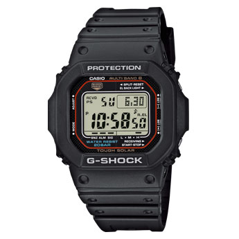 How to set alarm on G-Shock GW-M5610