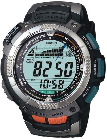 How to set alarm on ProTrek PAW-1100