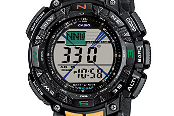 ProTrek PRG-240 User Manual / Casio Module 3246