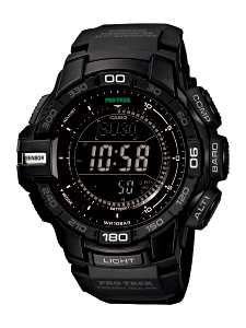 How to set time on ProTrek PRG-270
