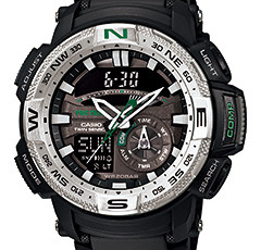 How to set time on ProTrek PRG-280