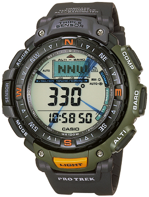 How to set time on ProTrek PRG-40