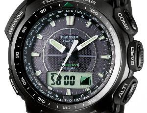 How to set time on ProTrek PRW-5100