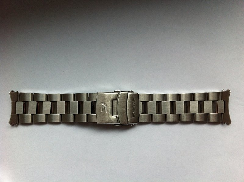 Original Strap for Edifice EF-527 Wristwatch