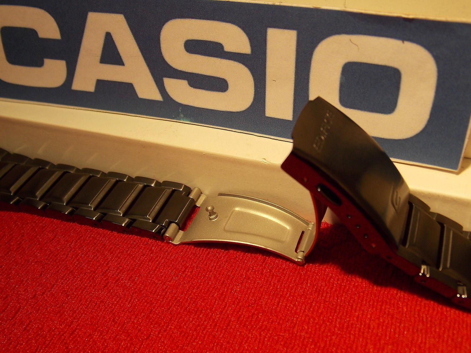 how to shorten casio edifice watch band