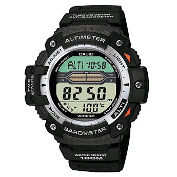 How to set time on Casio SGW-300