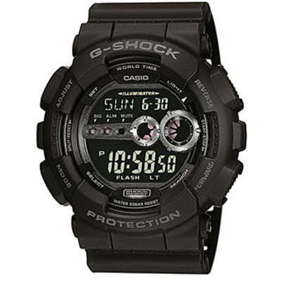 How to set time on G-Shock GD-100