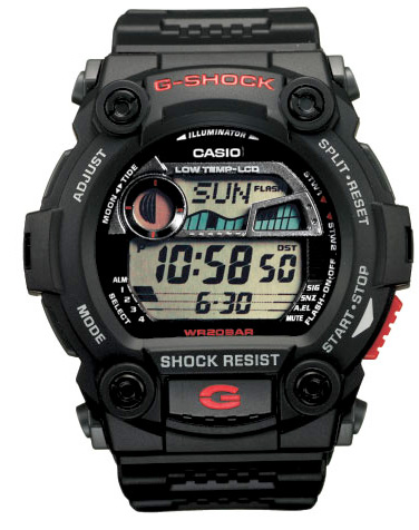 564881f8c72d How to set alarm on Casio G-Shock G-7900
