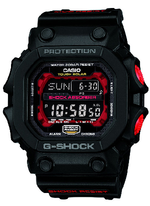 How to set alarm on G-Shock GX-56