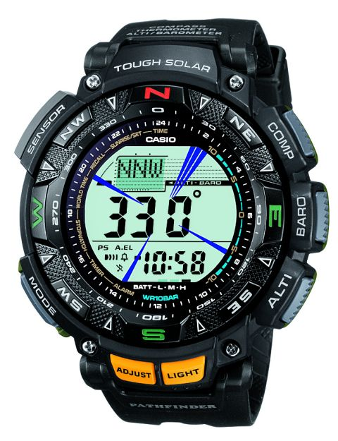 How to set time on ProTrek PAG-240