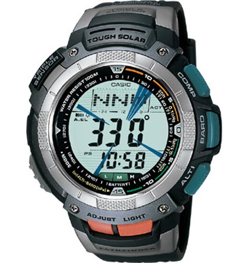 ProTrek PAG-80 User Manual / Casio Module 2894