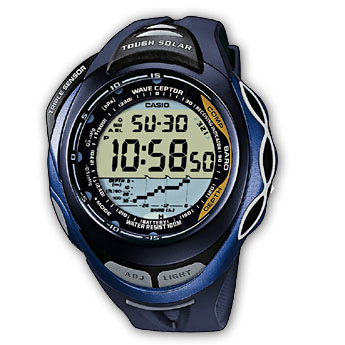 How to set alarm on ProTrek SPW-1000