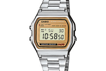 How to set time on Casio A158WEA