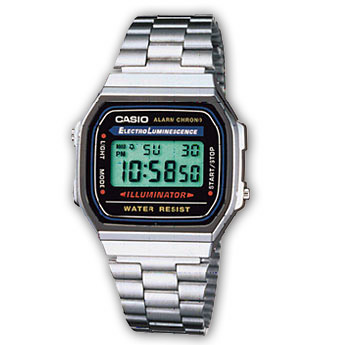 How to set alarm on Casio A168WA