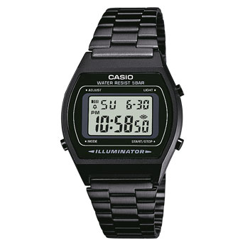 How to set alarm on Casio B640WB