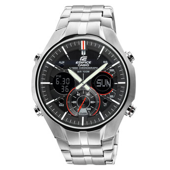 How to set time on Edifice EFA-135