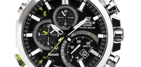 How to set time on Edifice EQB-500