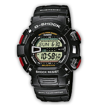 How to set alarm on G-Shock G-9000