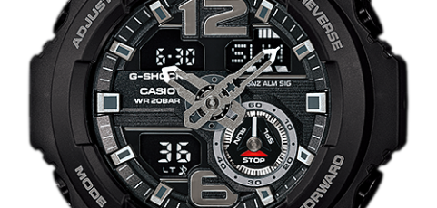 How to set time on G-Shock GA-310