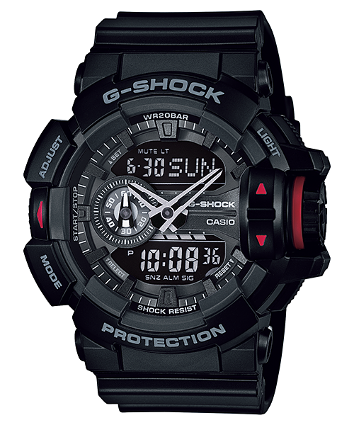 How to set time on G-Shock GA-400