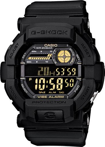 How to set alarm on G-Shock GD-350