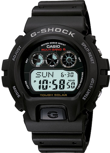 How to set time on G-Shock GW-6900