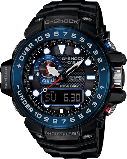 How to set alarm on G-Shock GWN-1000