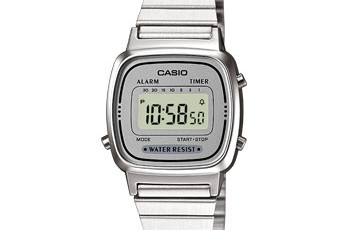 How to set time on Casio LA670WEA