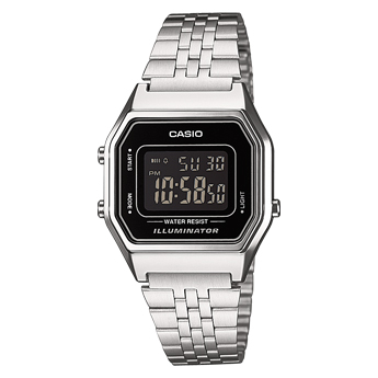 How to set alarm on Casio LA680WEA