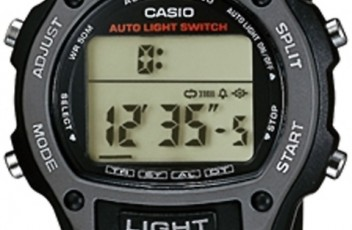 How to set time on Casio W-93