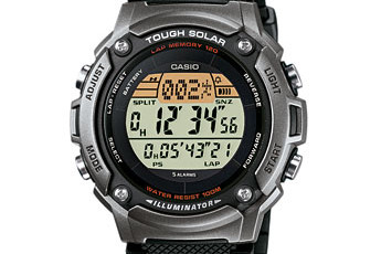 How to set time on Casio W-S200